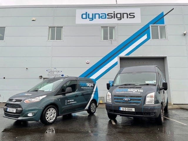 DynaSigns Facility Outdoors
