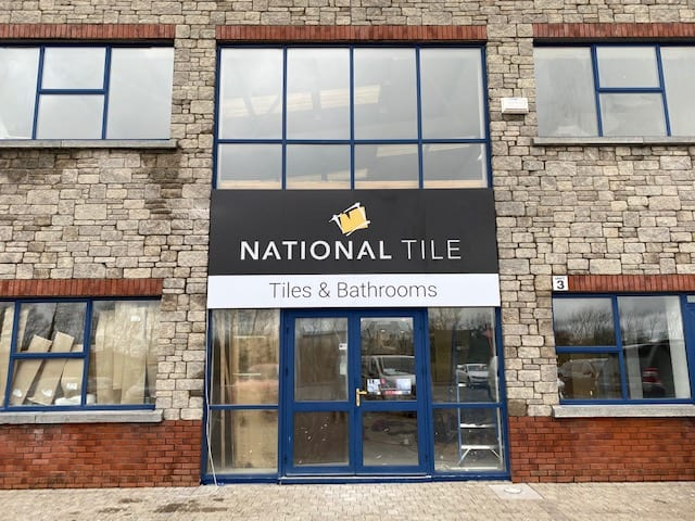 Lightbox & Skybond Sign for National Tile LTD