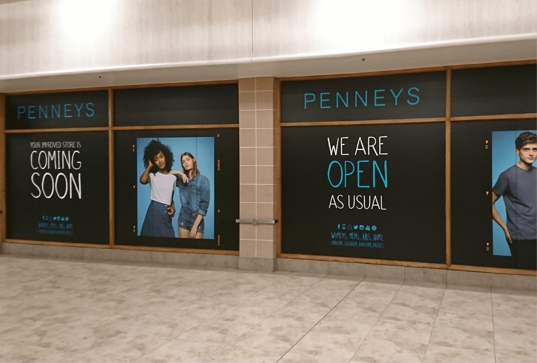 Penneys Window Graphics