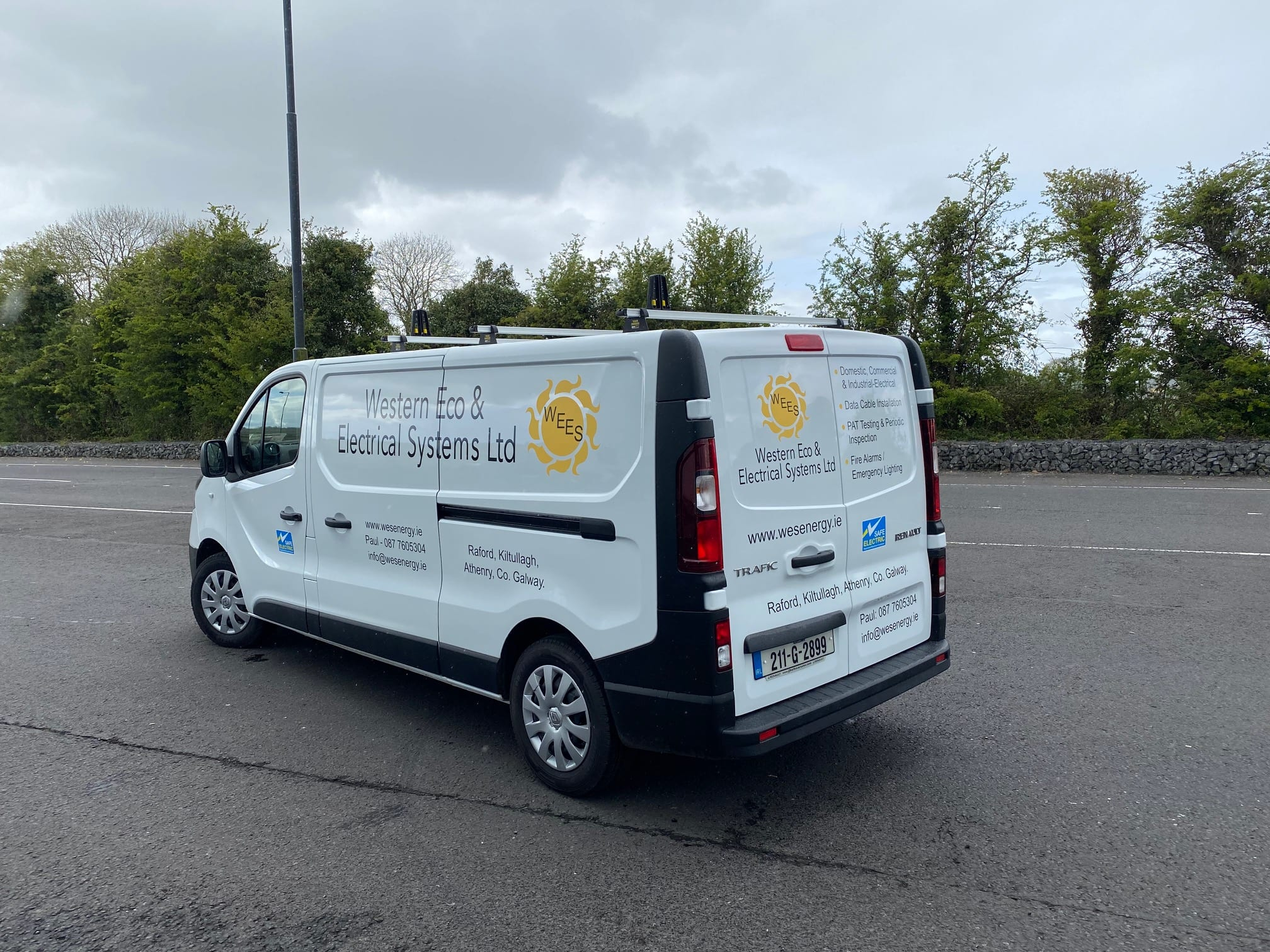 Vehicle Graphics for Western Eco & Electrical Systems LTD