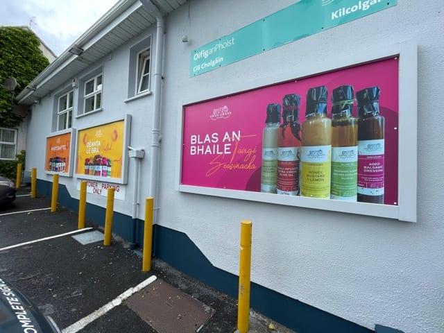 Exterior signs for Gran Grans Foods, Kilcolgan