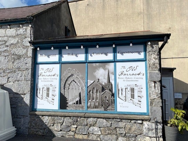 Window Graphics for the Old Barracks, Athenry