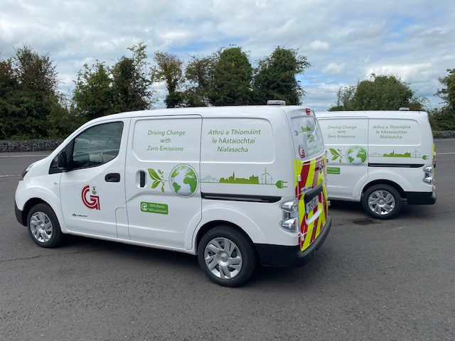 Galway City Council Electric Vans
