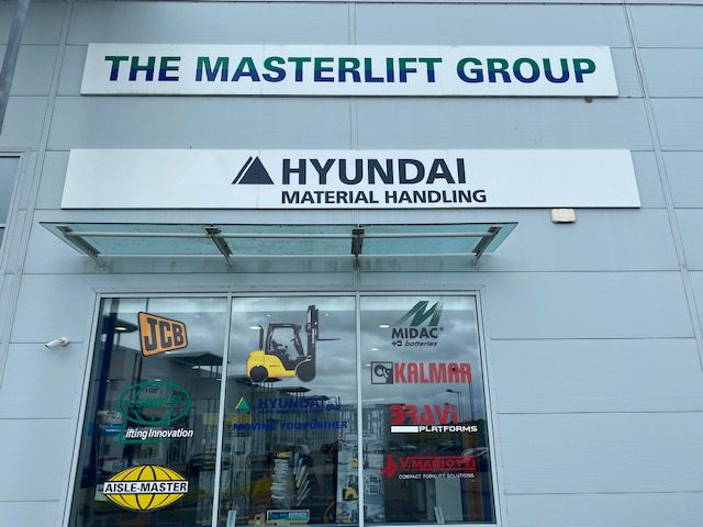 External Sign for Masterlift, Galway