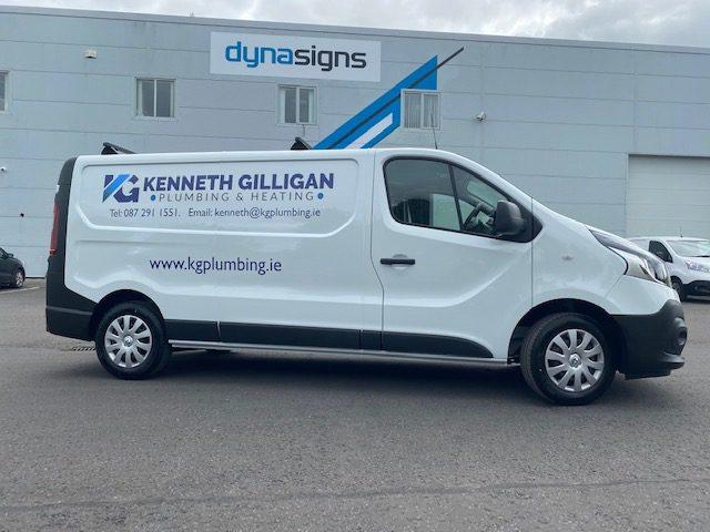Vehicle Graphics for Kenneth Gilligan Plumbing & Heating