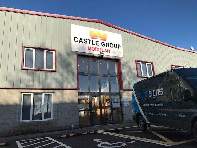 External Sign for Castle Group Modular