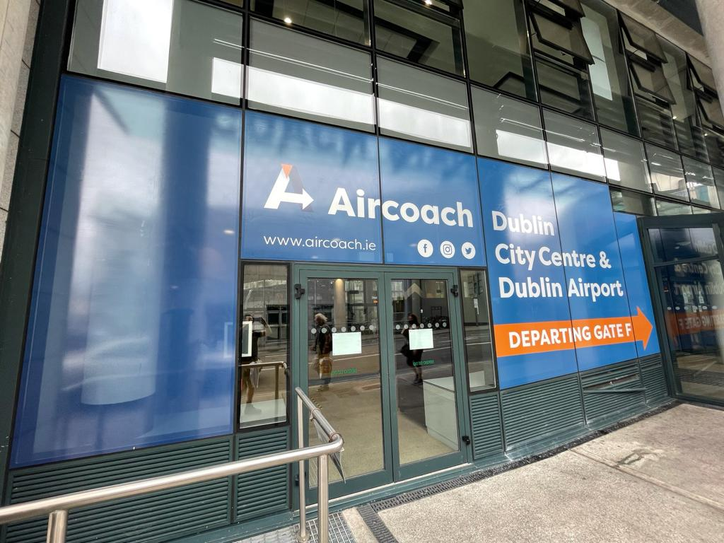 Window Graphics for Aircoach